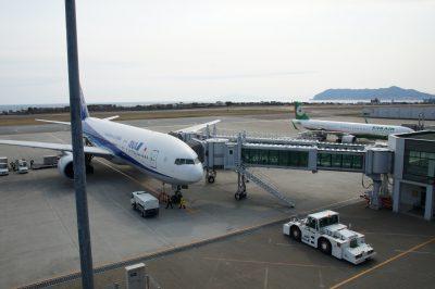 飛行機(函館空港)