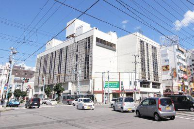 旧グルメシティ五稜郭店ビル(旧ホリタデパート・2014年解体)