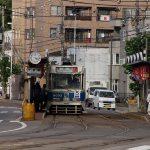市電十字街電停付近