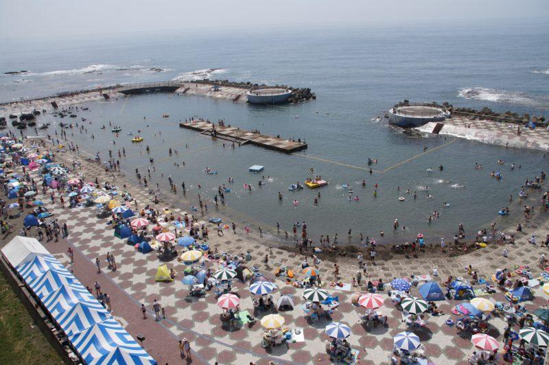 乙部町 元和台海浜公園 海のプール